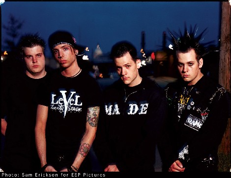 Good Charlotte In Action