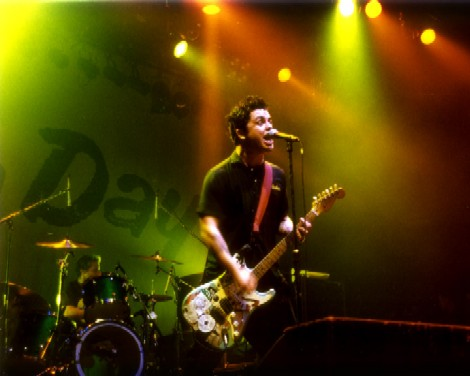 Green Day In Action